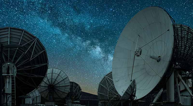 satellite-dish-in-dark